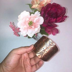 Vintage copper color bangle